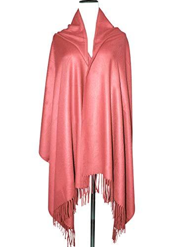 2d3078edd8ad9 NUWEERIR Womens Large Soft Cashmere Feel Pashmina Scarf Cozy Shawl ...