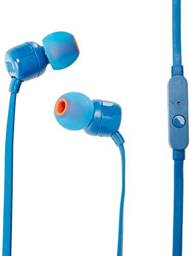 JBL T110 Audífonos In-Ear, Azul