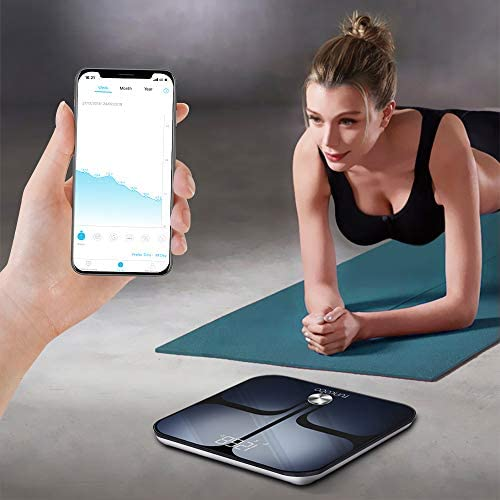 Digital Scale - Wi-Fi Bluetooth Auto - Switch Smart Scale Digital Weight, Body Fat Scale for Weight, 14 Body Composition Monitor with iOS, Android APP, Support Unlimited Users, Auto - Recognition 6