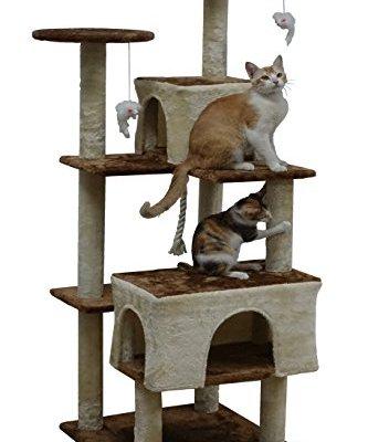 """Go Pet Club 61"""" Kitten Cat Tree"""