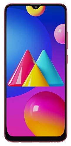 Samsung Galaxy M02s (Red,4GB RAM, 64GB Storage) | 5000 mAh | Triple Camera