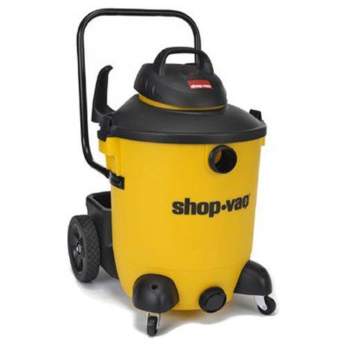 Shop-Vac 5951400 6.5 Peak hp Wet/Dry Vacuum 14 gallon Yellow/Black with Lock-On Hose, Tool Storage & Multifunction Accessories, Uses Type U Cartridge Filter & Type F Filter Bag