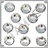 48ss Crystal CLEAR 72 SWAROVSKI Flatback Rhinestones Wholesale FULL Pack
