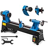 Mophorn 10 x 18 Inch Wood Lathe Bench Top Heavy Duty Wood Lathe 5 Speed