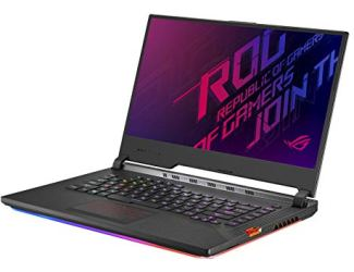 Asus ROG Strix Scar III (2019) Gaming Laptop, 15.6' 240Hz IPS Type FHD, NVIDIA GeForce RTX 2060, Intel Core i7-9750H, 16GB DDR4, 1TB PCIe Nvme SSD, Per-Key RGB KB, Windows 10, G531GV-DB76