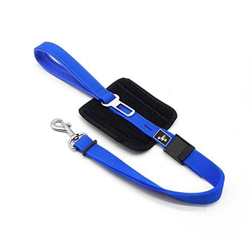 Dog Leash With Seat Belt Buckle Adjustable Pet Car