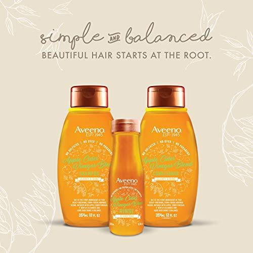 Aveeno Clarifying Apple Cider Vinegar InShower Hair Rinse, Fresh