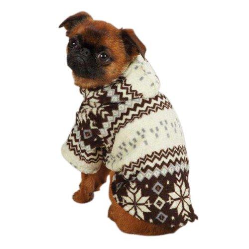 Casual Canine Snowdrift Cuddler - Brown 1