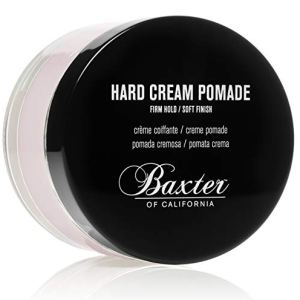 Baxter of California Hard Cream Pomade for Men | Natural Finish | Firm Hold | Hair Pomade 13