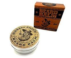 Honest Amish Beard Balm - New Large 4 Oz Twist Tin  Image 2