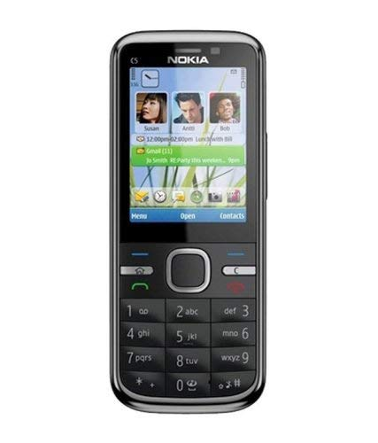 Nokia C5 HMD-N o k i a Vintage Feature Phone (Grey) 129
