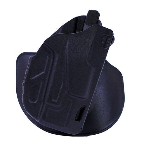 Safariland 7378 7TS ALS Concealment Holster, Flex-Paddle & Belt Loop Combo, Glock 26, 27, 33, SafariSeven Plain Black, Right Hand