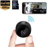 Tech :  Mini caméra espion WiFi caméra vidéo cachée sans fil 1080P HD petite maison  infos , tests