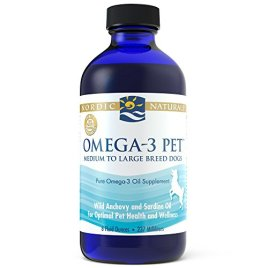 Nordic Naturals Omega-3 Pet Oil Supplement, Promotes Optimal Pet Health and Wellness, for Medium to Large Breed Dogs