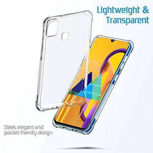 NTV Samsung Galaxy M30S (Transparent) Protective + Anti Shockproof Case 5