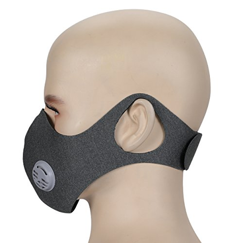 Dustproof-MaskAnqier-Upgrade-Version-Anti-pollution-Dust-Mask-With-Earloop-Adjustable-Velcro-and-Activated-Carbon-Filter-For-Cycling-Woodworking-Mowing-Lawn-and-Running