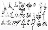 AVBeads Pagan/Witch Metal Charms 1253 (50 Piece)