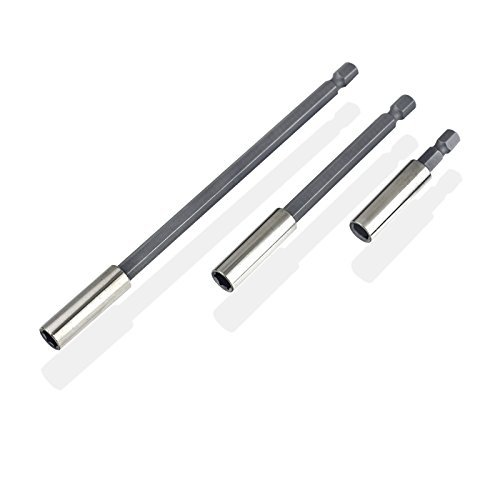 3pc Magnetic Bit Holder Extensions