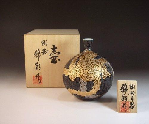 Luxury pottery vase , decorative vases of porcelain - Imari | gifts | Gifts | souvenir | gift | Phoenix Fujii NishikiAya