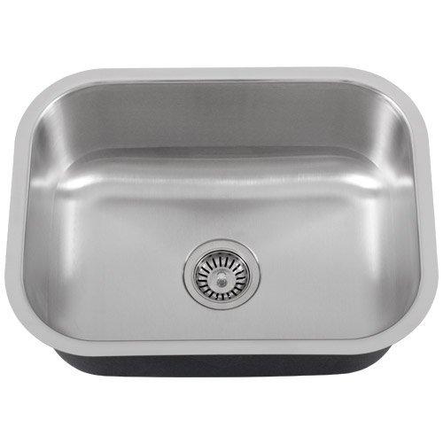 Phoenix PH-185 23' Single-Bowl 18-Gauge Stainless Steel Kitchen / Laundry Sink