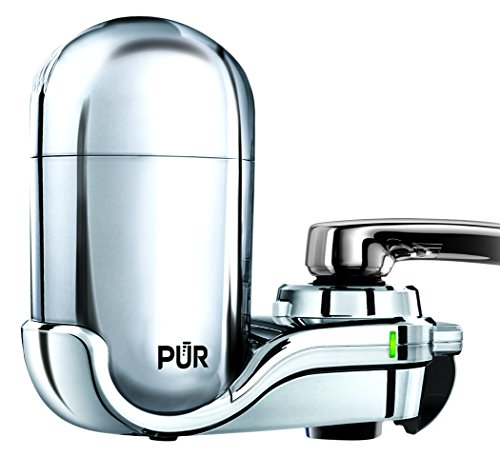 PUR FM-3700 Advanced Faucet Water Filter, Chrome