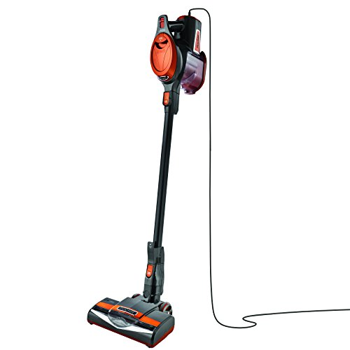 Shark Rocket Ultra-Light Corded Bagless Vacuum for Carpet and Hard Floor Cleaning with Swivel Steering and Car Detail Set (HV302), Gray/Orange