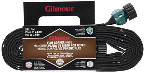 Gilmour Flat Weeper Hose in Shelf Display, 25ft