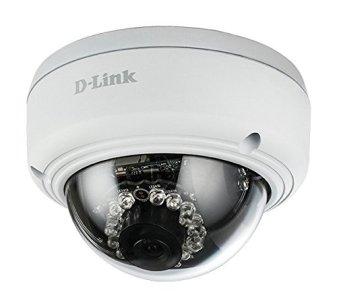 """La caméra de surveillance D-Link DCS-4602EV est de type """"dôme"""" puisque la lentille est protégée par un dôme plastique (ou verre)"""