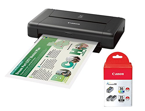Amazon.com: Canon PIXMA iP110 Wireless Compact Mobile Printer We keep this small compact wireless printer on our boat – love it too!