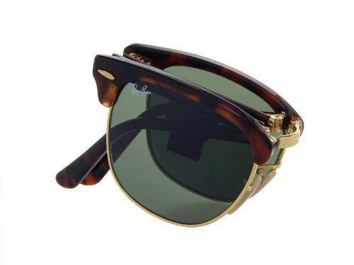 41acl1Cs03L Ray Ban Folding Clubmaster Made in Italy or China (100% Authentic) MSRP:$230.00