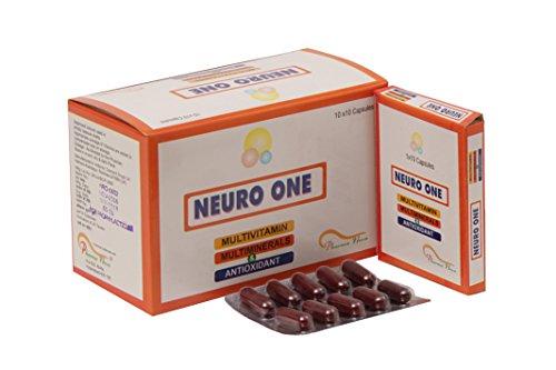 Pharma Nova Neuro One B Complex with MultiVitamins, Minerals and Antioxidants (100 Capsules)