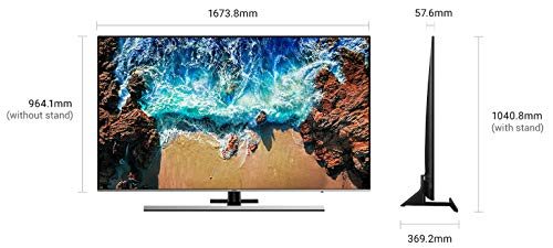 Samsung 190.5 cm (75 Inches) Series 8 4K UHD LED Smart TV UA75NU8000K (Black) (2018 model) 5