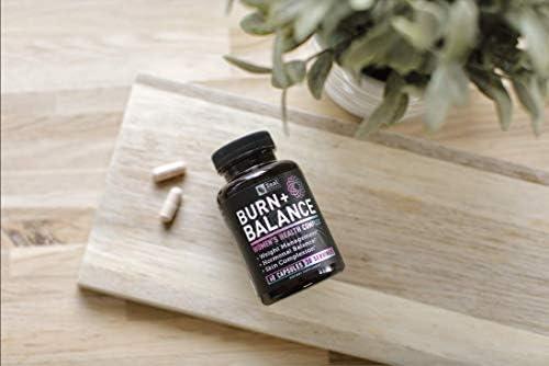 Weight Loss Pills for Women + Daily Balance Vitamins (Iron, Vitamin D, Setria®, Folate,+) Premium Diet Pills for Women + Womens Multivitamin with Iron, D & B Vitamins & Hormone Balance for Women 10