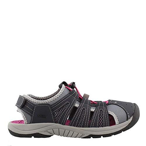 Khombu Women's, Cameron Sandals Navy Pink 10 M