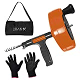 Drainx Power Pro 25-FT Steel Drum...