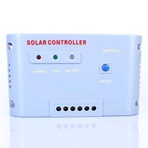 MPPT Solar Controller Solar Regulator 50A 60A 12V 24V Auot Switch