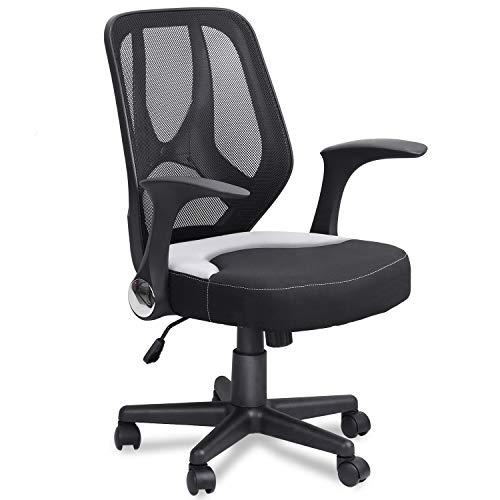 Mysuntown Mid-Back Office Mesh Chair