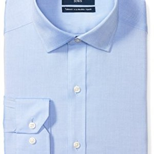 Amazon Brand - BUTTONED DOWN Men's Tailored Fit Spread-Collar Solid Pinpoint Non-Iron Dress Shirt 2 Fashion Online Shop Gifts for her Gifts for him womens full figure