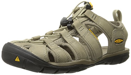 2aab5f1b4fb6 KEEN-Womens-Clearwater-CNX-Leather-Sandal-AluminumBrindle-6-