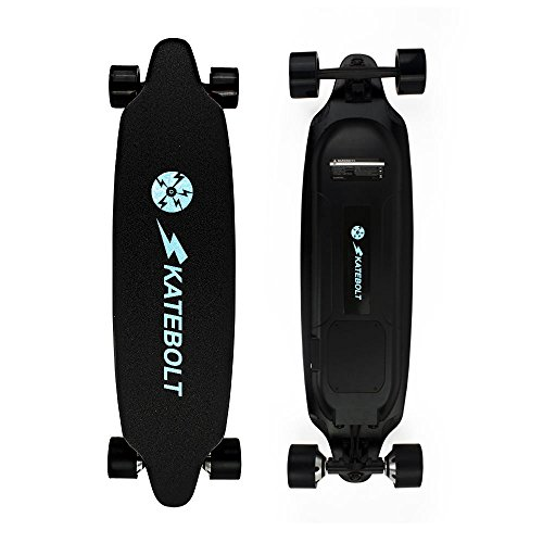 SKATEBOLT Electric Skateboard Longboard with Remote Controller, Hurricane 25 MPH Top Speed, 15 Miles Range, Dual Motor 1000W, 9 Layers Maple with Upgraded Board