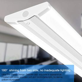 AntLux-110W-8FT-LED-Wraparound-Ultra-Slim-Strip-Lights-12600LM-5000K-8-Foot-LED-Garage-Shop-Lights-Flush-Mount-Warehouse-Office-Ceiling-Lighting-Fixture-Fluorescent-Tube-Replacement-2-Pack