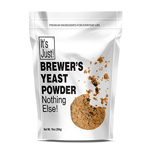 It's Just - Brewers Yeast Powder, Keto Baking, Sourdough Bread, Boost Mother's Milk, Make Lactation Cookies, 10oz 3