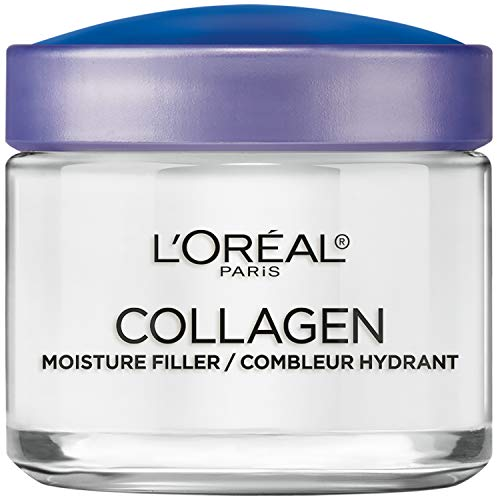 Collagen Face Moisturizer by L'Oreal Paris Skin Care I Day and Night Cream I Anti-Aging Face Cream to Smooth Wrinkles I Non-Greasy I 3.4 Ounce (Packaging May Vary) 3