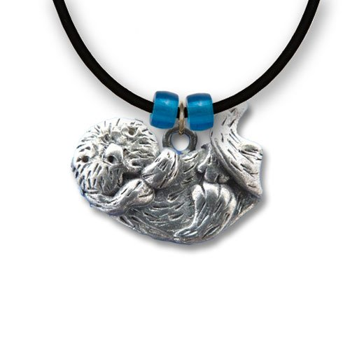 Pewter Sea Otter Necklace
