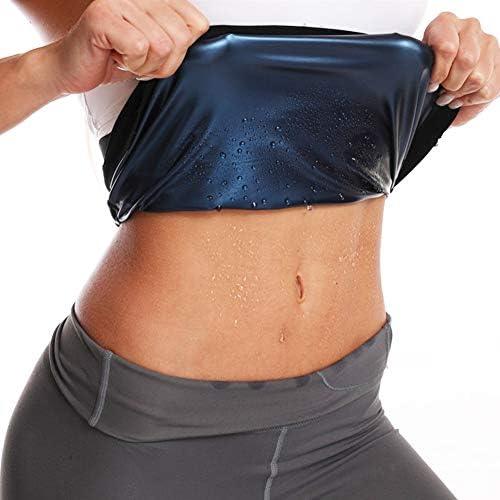 Nigecue Waist Trimmer for Women, Waist Trainer Sweat Workout Shaper, Sauna Belt 1