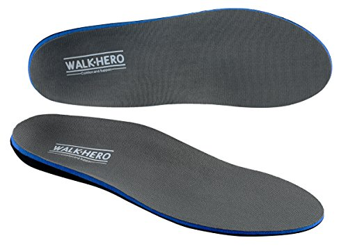 Plantar Fasciitis Feet Insoles Arch Supports Orthotics Inserts Relieve Flat Feet, High Arch, Foot Pain Mens 11-11 1/2 | Womens 13-13 1/2