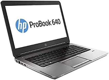 "HP ProBook 640 G1 14"" Laptop, Intel Core i5, 8GB RAM, 128GB SSD, Win10 Home (Renewed)"