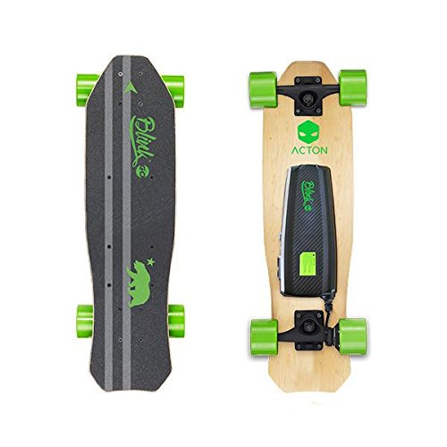 ACTON Blink Lite Go   Summer Sale   World's Lightest Electric Skateboard for Youth   Up to 5 Mile Range   10 MPH Top Speed   Bluetooth Remote Control Included