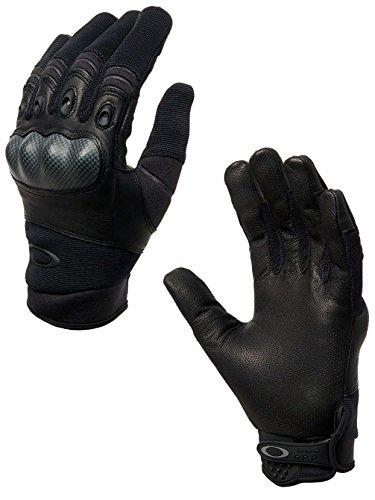 Oakley Mens Factory Pilot Glove, Black, Large