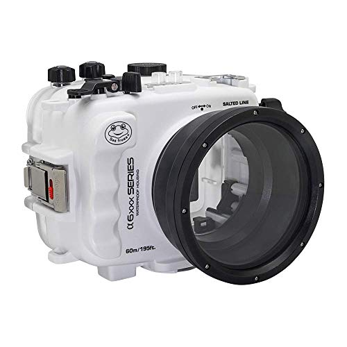 60M195FT-Waterproof-housing-A6xxx-Series-Salted-Line-White-for-Sony-a6500-a6400-a6300-a6100-a6000